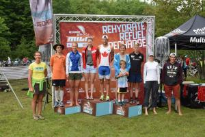 Bala Falls podium, thats me in orange